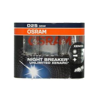 Lampa wyładowcza (ksenonowa) D2S OSRAM Xenarc Night Breaker Unlimited - set 2 szt.