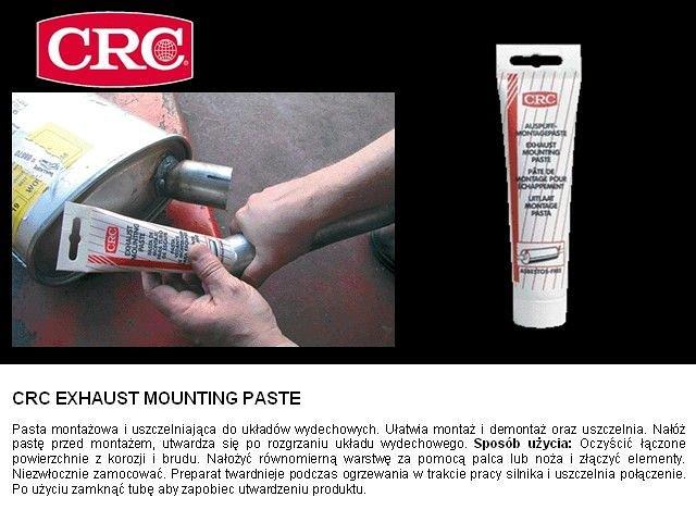 Techniczne środki pielęgnacyjne CRC CRC EXHAUST PASTE 150G