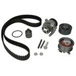 Rozrząd komplet (pasek + rolka + pompa wody) HEPU PK05511