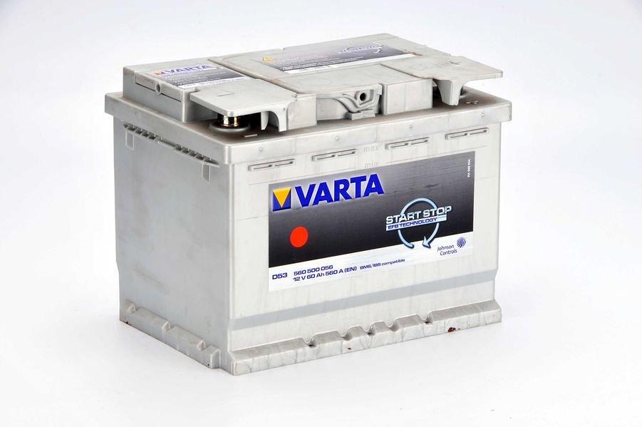 Akumulator VARTA START STOP E53 - 60Ah 560A P+