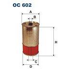 Filtr oleju FILTRON OC602