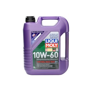 olej syntetyczny liqui moly synthoil race tech gt1 10w60. Black Bedroom Furniture Sets. Home Design Ideas