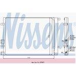 Chłodnica klimatyzacji NISSENS 940224