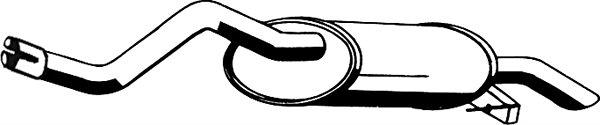 Tłumik układu wydechowego ASMET 10.085