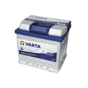 Akumulator VARTA BLUE DYNAMIC C22 - 52Ah 470A P+ - Montaż w cenie przy odbiorze w warsztacie!