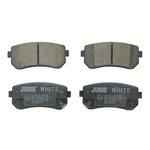 Ceramiczne klocki hamulcowe JURID WHITE 572590JC