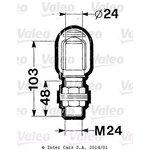 Lampa sygnalizująca (kogut) VALEO 084158