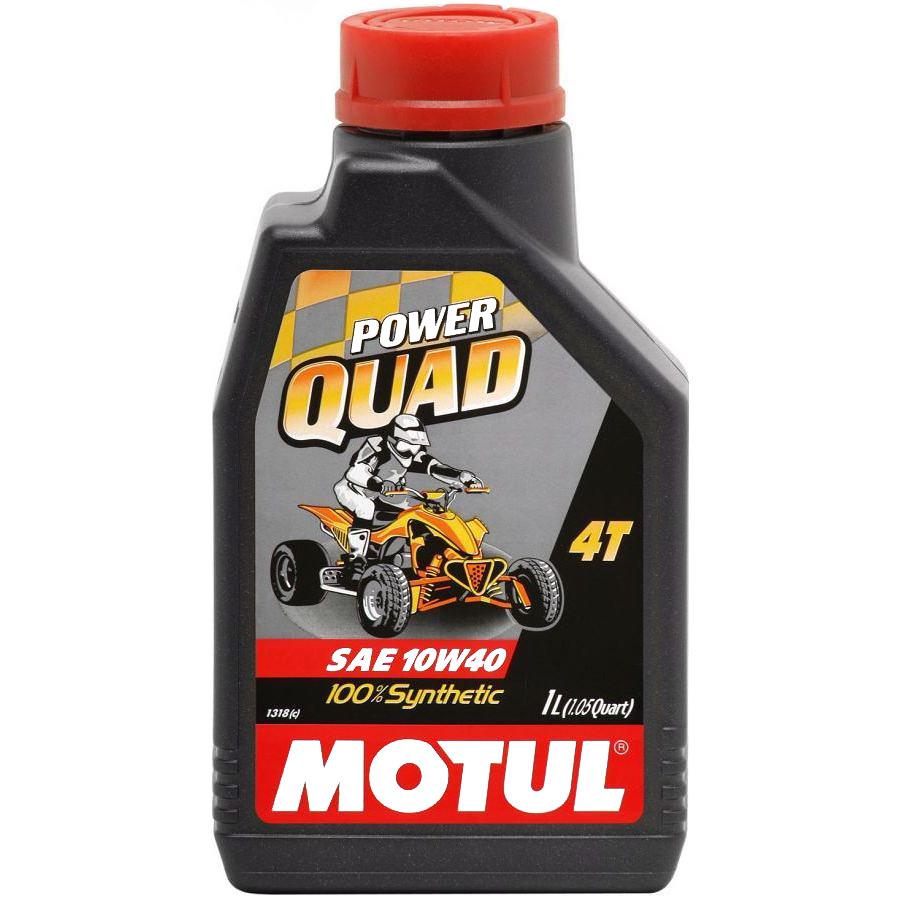 Olej silnikowy MOTUL Power Quad 4T 10W40