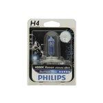 Żarówka (halogenowa) H4 PHILIPS BlueVision Moto - blister 1 szt.