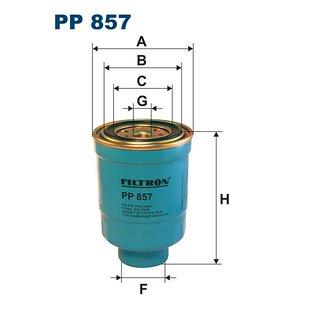 Filtr paliwa FILTRON PP857