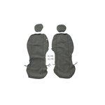 Pokrowce na przednie fotele KEGEL-BŁAŻUSIAK Scotland Super M Air Bag Lux - czarny
