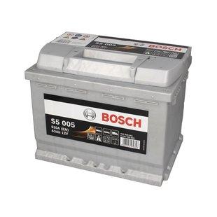 Akumulator BOSCH SILVER S5 005 - 63Ah 610A P+