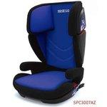 Fotelik samochodowy SPARCO F700i ISOFIX 15-36 kg - niebiesko szary