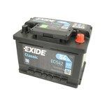 Akumulator EXIDE CLASSIC - 54A 500A P+ - Montaż w cenie przy odbiorze w warsztacie!