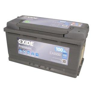 Akumulator EXIDE PREMIUM 100Ah 900A P+