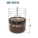 Filtr oleju FILTRON OP537/2
