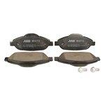 Ceramiczne klocki hamulcowe JURID WHITE 573241JC