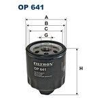 Filtr oleju FILTRON OP641