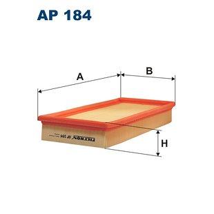 Filtr powietrza FILTRON AP184