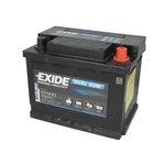 Akumulator EXIDE DUAL AGM EP500 - 50Ah 680A P+
