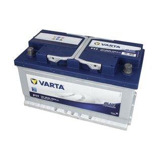 Akumulator VARTA BLUE DYNAMIC F17 - 80Ah 740A P+ - Montaż w cenie przy odbiorze w warsztacie!