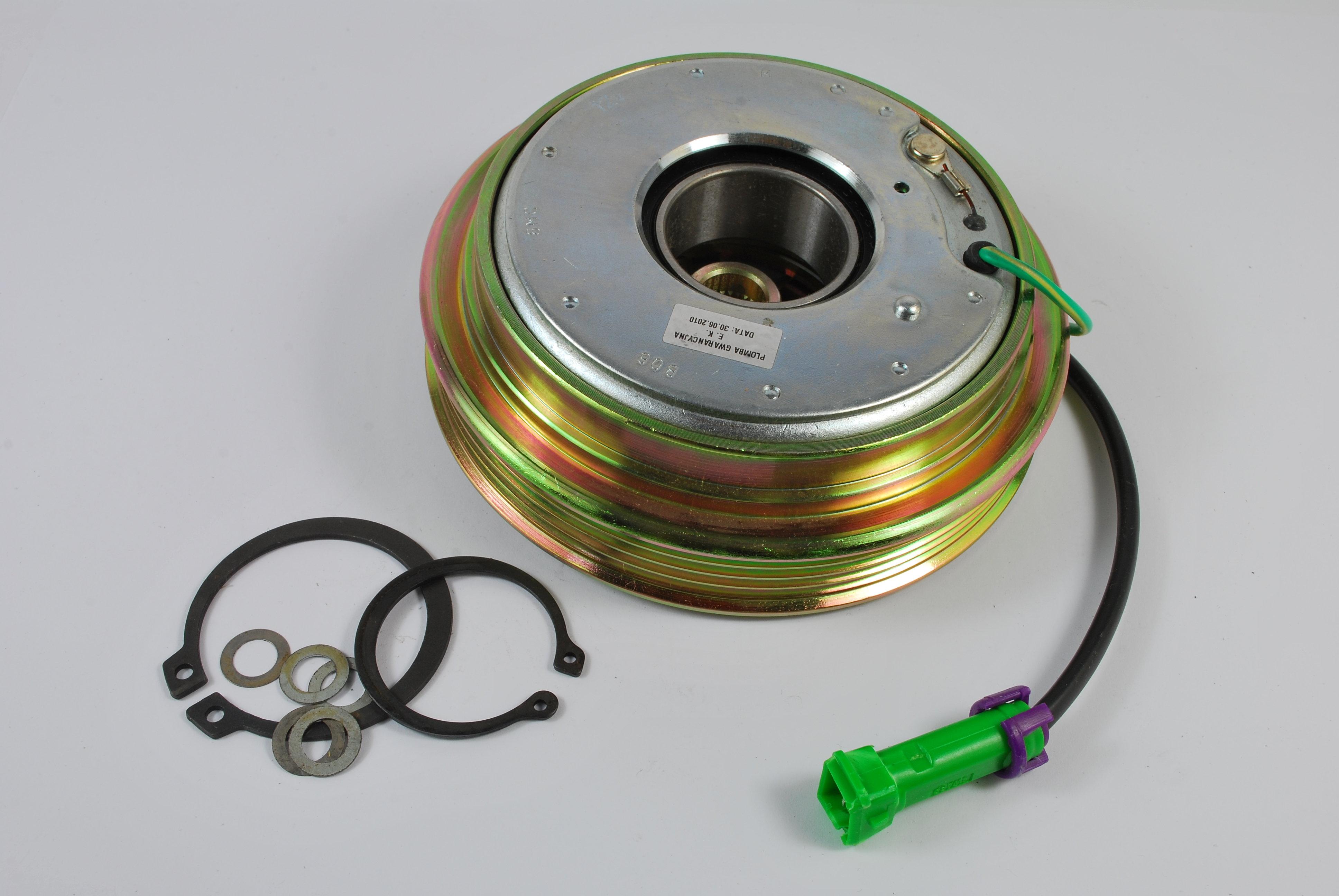 Sprzęgło elektromagnetyczne kompresora klimatyzacji THERMOTEC CA68451