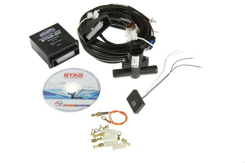 System kontroli lambda STAG 50 - zestaw - darmowa dostawa do 5000 warsztatów Motointegrator Partner i 170 sklepów Inter Cars