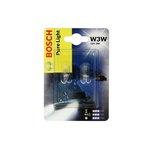 Żarówka (pomocnicza) W3W BOSCH Pure Light - blister 2 szt.