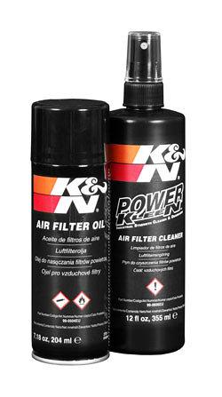 Zestaw do czyszczenia filtrów powietrza K&N 99-5000EU