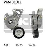 Rolka napinająca pasek klinowy SKF VKM 31011