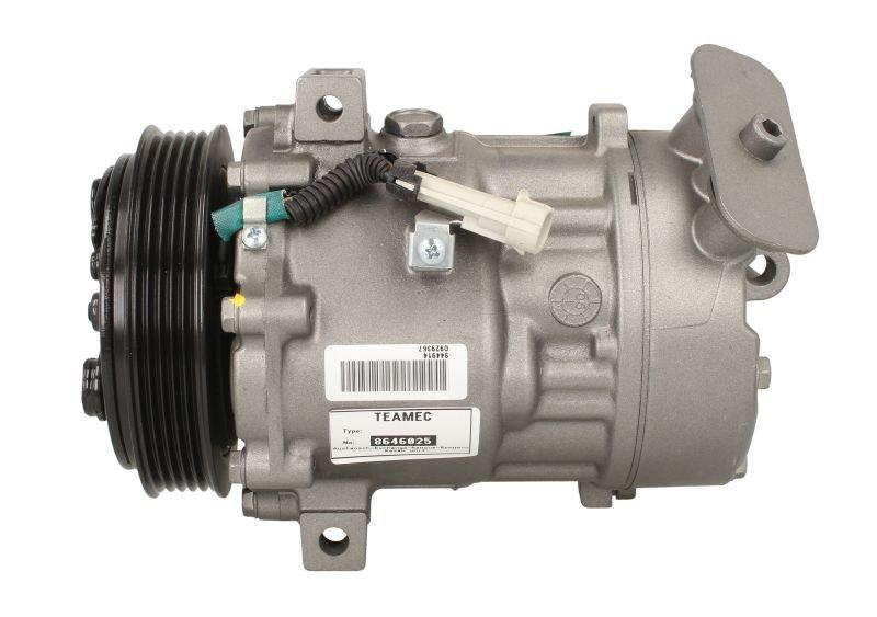 Kompresor klimatyzacji TEAMEC 8646025 - darmowa dostawa do 5000 warsztatów Motointegrator Partner i 170 sklepów Inter Cars
