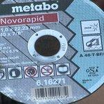 Tarcze do cięcia METABO 6.16 271.00 0