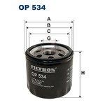 Filtr oleju FILTRON OP534