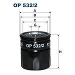Filtr oleju FILTRON OP532/2