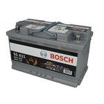 Akumulator BOSCH SILVER S5 A11  - 80Ah 800A P+