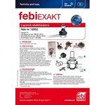 Łącznik drążka stabilizatora FEBI 12002