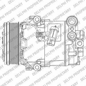 Kompresor klimatyzacji DELPHI TSP0155931 - darmowa dostawa do 5000 warsztatów Motointegrator Partner i 170 sklepów Inter Cars