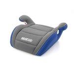 Siedzisko samochodowe SPARCO F100k 15-36 kg - szaro-niebieski