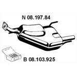 Tłumik układu wydechowego EBERSPACHER 08.197.84
