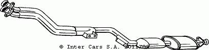Katalizator BOSAL 099-600