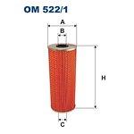Filtr oleju FILTRON OM522/1