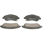 Ceramiczne klocki hamulcowe JURID WHITE 572605JC