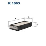Filtr kabiny FILTRON K1063