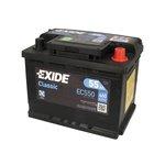 Akumulator EXIDE CLASSIC EC550 - 55Ah 460A P+ - Montaż w cenie przy odbiorze w warsztacie!