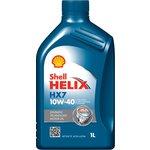 Olej SHELL Helix HX7 10W40, 1 litr