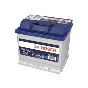 Akumulator BOSCH SILVER S4 002 - 52Ah 470A P+