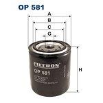 Filtr oleju FILTRON OP581