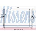 Chłodnica klimatyzacji NISSENS 94038