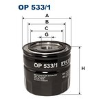 Filtr oleju FILTRON OP533/1