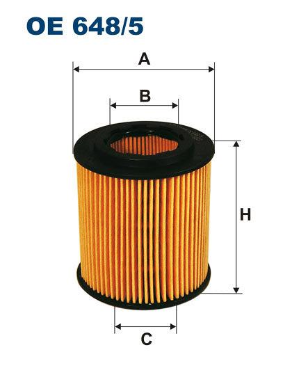 Filtr oleju FILTRON OE648/5 - darmowa dostawa do 5000 warsztatów Motointegrator Partner i 170 sklepów Inter Cars